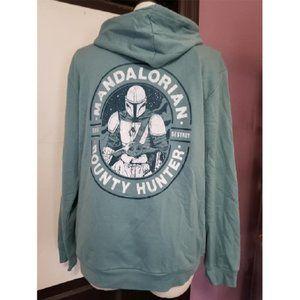 Baby Yoda Mandalorian Hoodie Sz Lg/XL